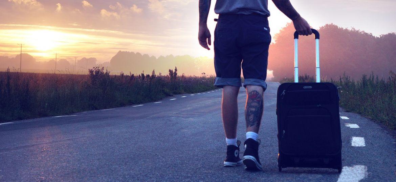 Koffer vakantie
