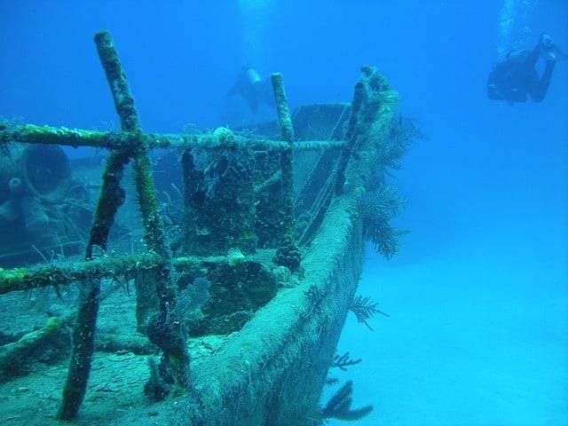 Bahamas duiken wrakken