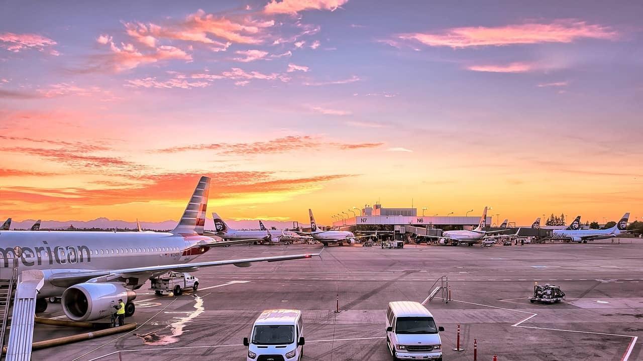 Vliegveld foto
