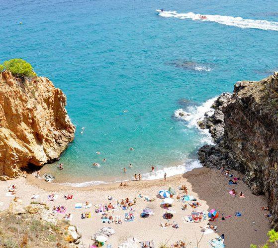 Hipste stranden van Spanje